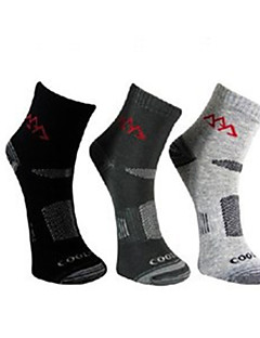cheap Outdoor Clothing-Men's Hiking Socks 3 Pairs Socks Thermal / Warm / Quick Dry / Breathable for Camping / Hiking / Hunting / Fishing