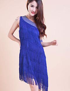 Zullen we latijns dans outfits jurken vrouwen kinderkleding prestatie jurk