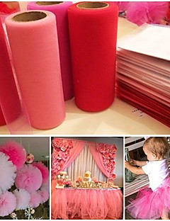 Χαμηλού Κόστους -Organza PC Αξεσουάρ Γάμου Διακόσμηση Τελετή - Γάμου Πάρτι Γενέθλια Αποφοίτηση Πάρτι πριν το Γάμο Ημέρα του Αγίου Βαλεντίνου Baby Shower