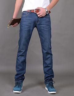 MEN - Jeans ( Bumbac ) Vintage/Plajă/Informal/Muncă