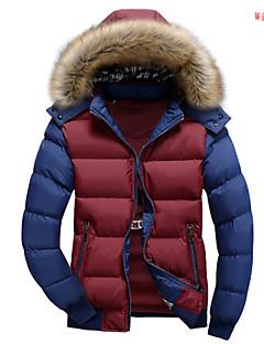 preiswerte Überbekleidung-Herrn Einfarbig - Schick & Modern Moderner Stil