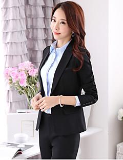 Kadın Diğer Uzun Kol Sonbahar Solid Normal-Kadın Blazer