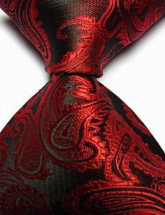 Miehet Vintage / Sievä / Juhla / Toimisto / Vapaa-aika Polyesteri Solmio-Painettu