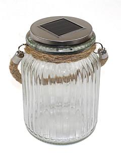 billige Lampestolper-LED Solcellebelysning 1 LED Oppladbar Dekorativ Batteri