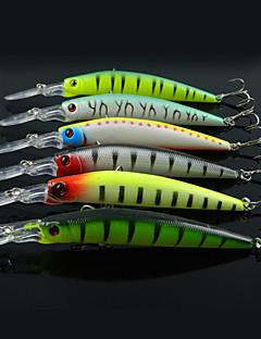 お買い得  フィッシング-6 個 ルアー ミノウ ハードベイト 硬質プラスチック 海釣り 流し釣り/船釣り 一般的な釣り