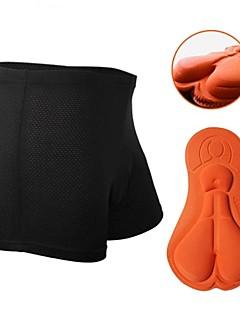 זול בגדי רכיבת אופניים-Nuckily בגדי ריקוד נשים / יוניסקס תחתוניות לרכיבה אופניים מכנסיים קצרים / מכנסיים קצרים הלבשה תחתונה / תחתוני בוקסר 3D לוח, ייבוש מהיר,