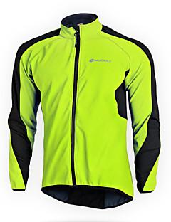 Nuckily Cyklo bunda Dámské Unisex Dlouhé rukávy Jezdit na kole Fleecové bundy Dres Vrchní část oděvu Spodní část oděvu Sady oblečení