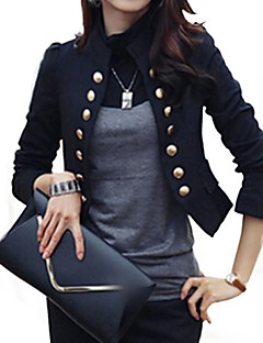 cheap Women's Blazers & Jackets-Women's Work Blazer - Solid Stand