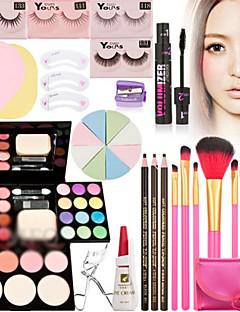 billige -39 Rouge + Øyenskygger + Lipgloss + øyenvippekrøller Tørr / Våt Øyne / Ansikt / Lepper / ØyenvippGjennomskinnelig glans / Farget glans /