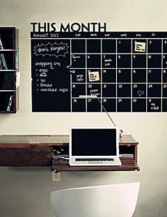 ieftine Acțibilduri de Tablă-Peisaj Romantic Tablă de scris cu creta Modă Forme Desene Animate Vacanță Fantezie Perete Postituri Autocolante perete plane Autocolante