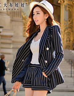 billige Bukser-Dame Gatemote Shorts Bukser Stripet