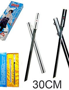 baratos Acessórios Cosplay Anime-Arma / Espada Inspirado por Naruto Sasuke Uchiha Anime Acessórios para Cosplay Espada Liga Homens / Mulheres novo / quente Trajes da Noite das Bruxas