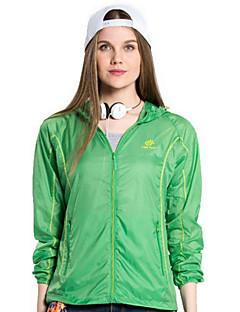 cheap Softshell, Fleece & Hiking Jackets-Women's Hiking Jacket Outdoor Waterproof Quick Dry Windproof Ultraviolet Resistant Wearable Breathable Lightweight Materials Windbreaker