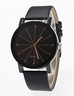 Damen Modeuhr Simulierter Diamant Uhr Quartz Imitation Diamant PU Band Schwarz