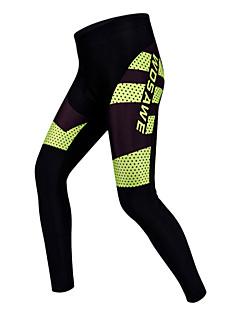 お買い得  サイクルウェア-WOSAWE サイクリングタイツ 男女兼用 バイク パンツ パッド入りショーツ サイクリングタイツ ボトムズ サイクルウェア 速乾性 耐久性 高通気性 ビデオ圧縮 3Dパッド 防滑り バクテリア対応 低摩擦 モイスチャーコントロール サイクリング / バイク