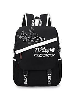 Laukku Innoittamana Sword Art Online Cosplay Anime Cosplay-Tarvikkeet Laukku Backpack Canvas Miehet Naiset