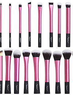 voordelige Make-upborstels-20pcs professioneel Make-up kwasten Brush Sets Synthetisch haar / Nylonkwast Oog / 3 * Oogschaduwpenseel / 7 * Lippenseel Medium kwast /