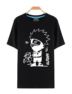 """billige Anime cosplay-Inspirert av Naruto Cosplay Anime  """"Cosplay-kostymer"""" Cosplay Topper / Underdele Trykt mønster Topp Til Mann"""