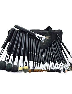cheap Makeup Brushes-32pcs Makeup Brushes Professional Makeup Brush Set Mink Hair / Goat Hair / Pony Professional / Hypoallergenic / Limits Bacteria Big Brush