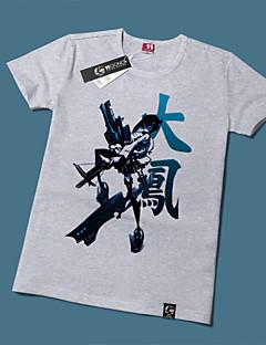 """Inspirert av Kantai Collection Shimakaze Anime  """"Cosplay-kostymer"""" Cosplay T-skjorte Trykt mønster Kortermet T-Trøye Til Unisex"""