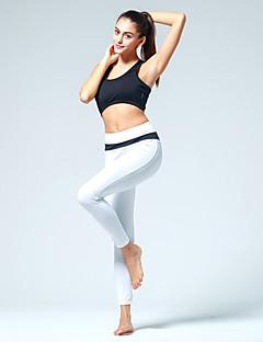 billiga Träning-, jogging- och yogakläder-CONNY Dam Yoga byxor - Svart / vit, Vit / Svart, Svart / Rosa sporter Cykling Tights / Leggings Pilates, Motion & Fitness, Löpning