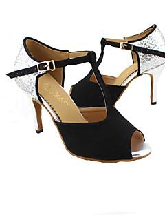 hesapli -moda kadın köpüklü parıltı üst dans ayakkabıları (daha fazla renk) özel