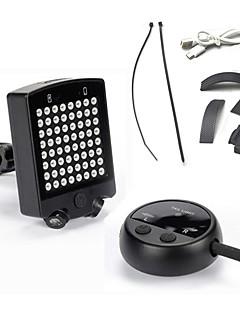 billiga Cykling-Cykellyktor Baklykta till cykel LED - Cykelsport Uppladdningsbar Vattentät Enkel att bära LED ljus Andra CR2032 120 Lumen USB Batteri