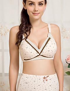 billige Dame-brystholdere-Kvinner BH Amming Heldekkende - Fargeblokk