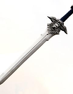 Våpen / Sverd Inspirert av WOW Cosplay Anime Cosplay Tilbehør Sverd Sølv PVC Mann