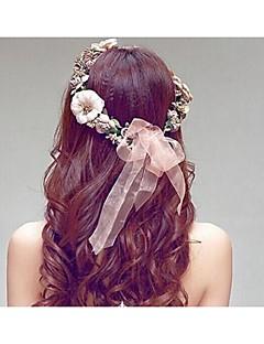 女性用 樹脂 かぶと-結婚式 ヘッドバンド 1個