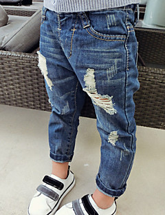 Boy's Casual/Daily Solid Pants / Jeans,Cotton Spring / Fall Blue