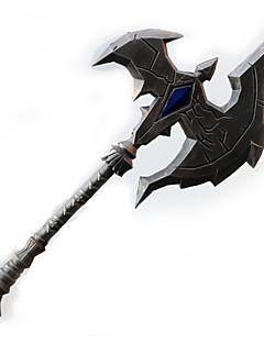 Våpen Inspirert av WOW Cosplay Anime Cosplay Tilbehør Våpen Sølv PVC Mann