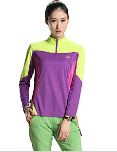 cheap Hiking T-shirts-Women's Hiking T-shirt Quick Dry Ultraviolet Resistant Breathable Jersey + Shorts Tops for Exercise & Fitness Spring Summer S M L XL XXL-