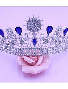 aletas de tiaras festa de casamento elegante estilo feminino clássico