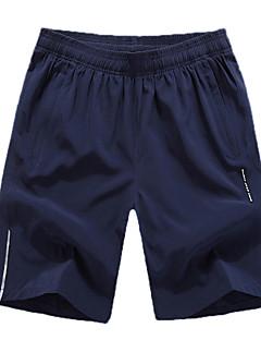 billige Løbetøj-Herre Løbeshorts Sport Hængende Shorts / Underdele Træning & Fitness, Løb Hurtigtørrende, Åndbart, Refleksbånd Uelastisk, Elastisk Grå,