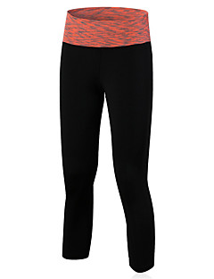 cheap Fitness Clothing-Women's Running Pants Quick Dry Compression Comfortable 3/4 Tights Leggings Bottoms Yoga Exercise & Fitness Basketball Running Tactel