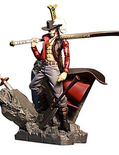 billige Anime cosplay-Anime Action Figurer Inspirert av One Piece Dracula Mihawk 15 CM Modell Leker Dukke