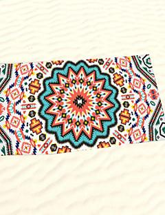 "1 PC Micro Fiber Beach Towel 55"" by 27"" Floral Pattern"