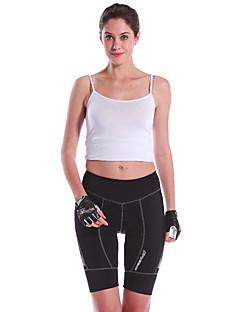 Mysenlan מכנס קצר מרופד לרכיבה לנשים אופניים מכנסיים קצרים תחתיותנושם ייבוש מהיר עמיד אולטרה סגול חדירות גבוהה לאוויר (מעל 15,000 גרם)