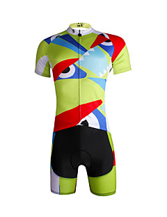 cheap Cycling Jersey & Shorts / Pants Sets-ILPALADINO Cycling Jersey with Shorts Men's Short Sleeves Bike Jersey Clothing Suits Bike Wear Quick Dry Ultraviolet Resistant Breathable