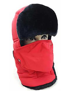 billiga Skid- och snowboardkläder-Skidor Hatt / Skyddsmask mot Förorening Herr / Dam Vattentät / Håller värmen Snowboard Polyester Vintersport Vinter