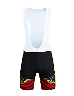 ILPALADINO Shorts med seler til sykning Sykkel Sykkelshorts Med Seler Bunner Herre Fort Tørring Vindtett Anatomisk design Ultraviolet