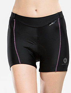 cheap Cycling Pants, Shorts, Tights-TASDAN Cycling Padded Shorts Women's Bike Shorts Underwear Shorts Bottoms Bike Wear Quick Dry Breathable Compression Reflective Strips