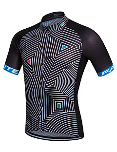 cheap -Fastcute Cycling Jersey Men's Short Sleeves Bike Jersey Top Quick Dry Breathable Sweat-wicking Coolmax Classic Spring Summer Fall/Autumn