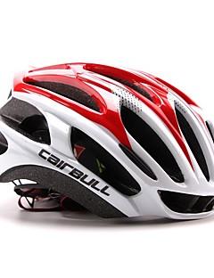 billiga Cykling-CAIRBULL Vuxen cykelhjälm 29 Ventiler CE / CE EN 1077 Certifiering Stöttålig, Lättvikt, Justerbar passform EPS, PC Vägcykling / Rekreation Cykling / Camping - Röd / Ljusblå / ljusgrön Herr / Dam