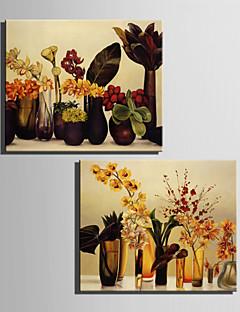 Still Life / Botanisk Lærred Udskriv To paneler Klar til at hænge,Vertikal