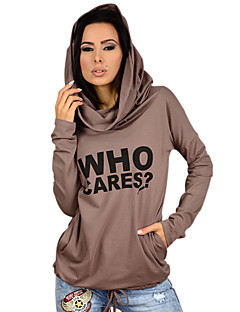 Women's Daily Classic & Timeless Fall Hoodie,Fashion Hooded Long Sleeves N/A Medium