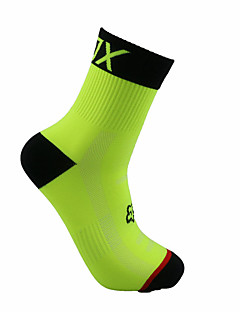 cheap Cycling Socks-Crew Socks Sport Socks / Athletic Socks Bike/Cycling Socks Men's Football/Soccer Cycling / Bike Wearable Breathable 1 Pair Winter Spring