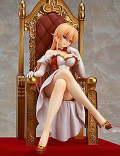 billige Anime cosplay-Anime Action Figurer Inspirert av Shokugeki ingen Soma Queen PVC 32 cm CM Modell Leker Dukke