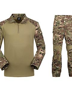 Pánské Maskovací lovecké tričko Outdoor Voděodolný Taktická Sady oblečení Outdoor a turistika Lov